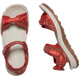 Keen Terradora II Sandalias de Dedo Abierto Mujer, dark red/coral